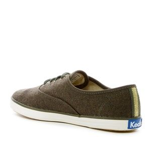 7bb233a8db5 Keds Shoes - NEW w  BOX Keds Wool Olive Green Champion Sneakers